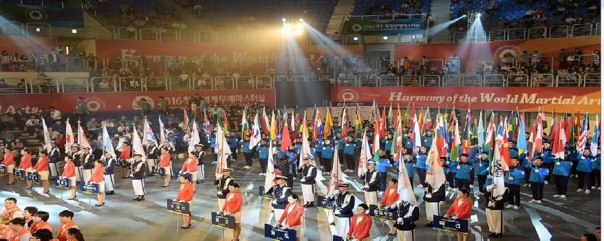 The 2016 Cheongju World Martial Arts Mastership was a milestone event for all International Martial Arts Federation the member of WMC.